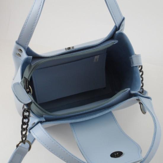 Жіноча модельна сумка LARGONI 1742A блакитний