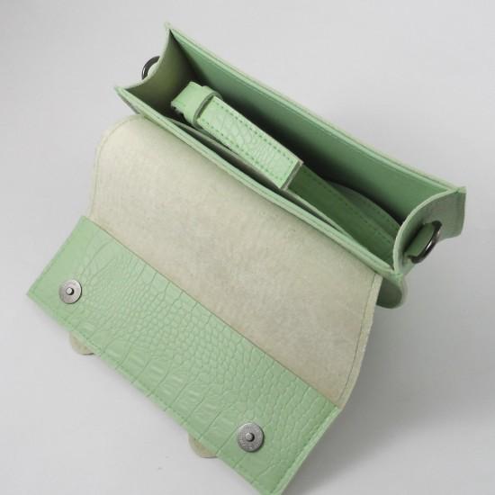 Жіноча сумочка через плече LARGONI 2106 м'ятний