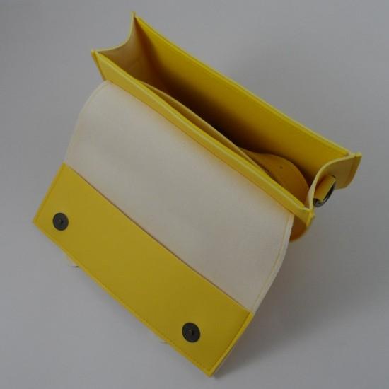 Женская сумочка через плечо LARGONI 2106 желтый