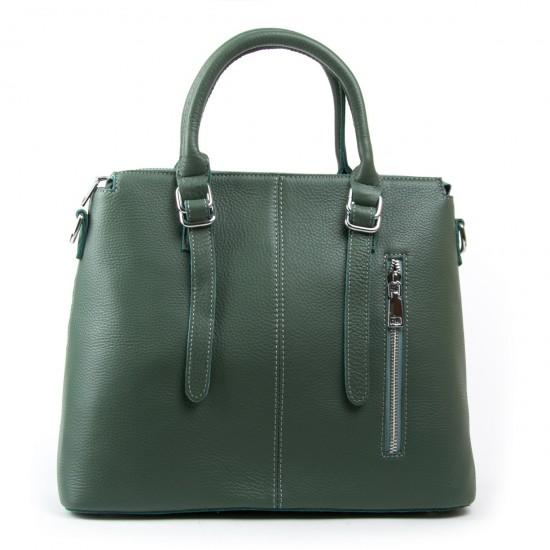 Женская сумка из натуральной кожи ALEX RAI 7125 зеленый