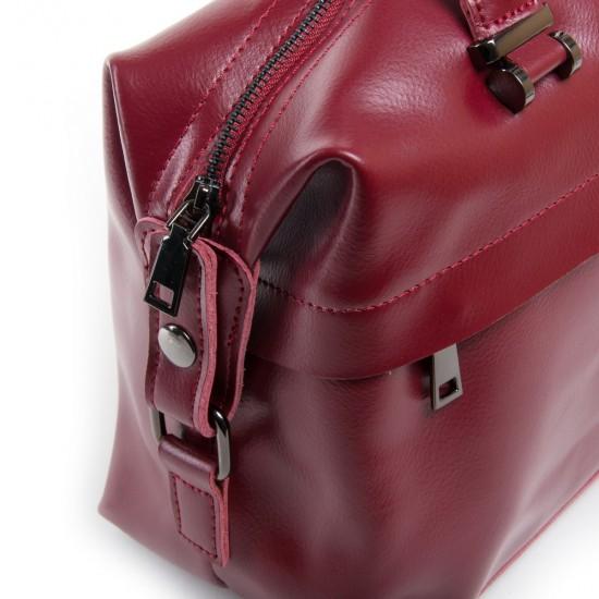 Жіноча сумка з натуральної шкіри ALEX RAI P1532 бордовий