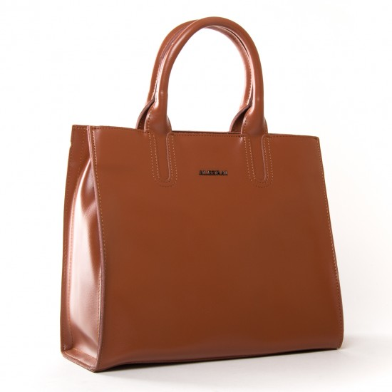Женская сумка из натуральной кожи ALEX RAI 8633 рыжий