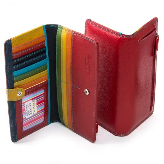 Женский кожаный кошелек dr.Bond WRN-22 красный
