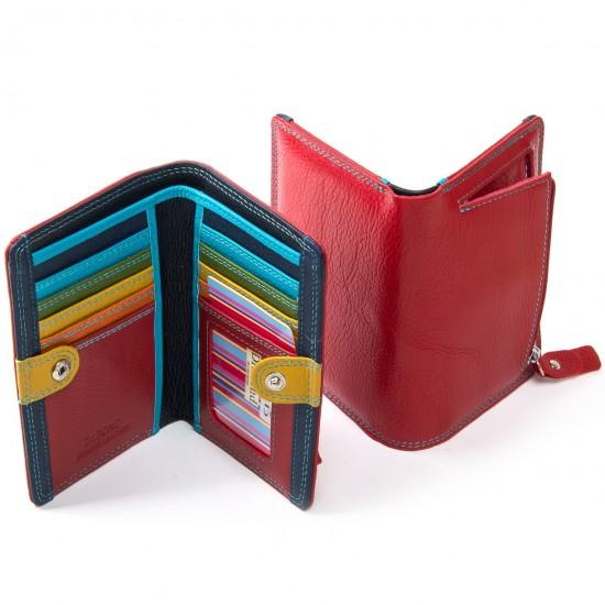 Жіночий шкіряний гаманець dr.Bond WRN-2 червоний