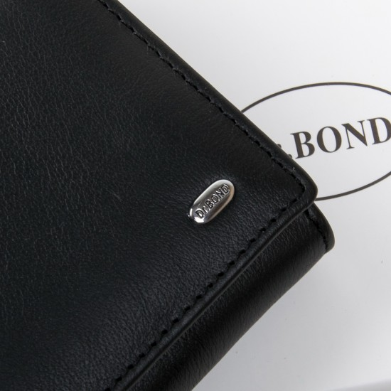 Жіночий шкіряний гаманець dr.Bond Classic W501 чорний