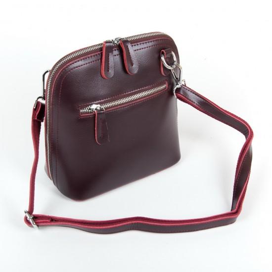 Женская сумочка-клатч из натуральной кожи ALEX RAI 8803 бордовый