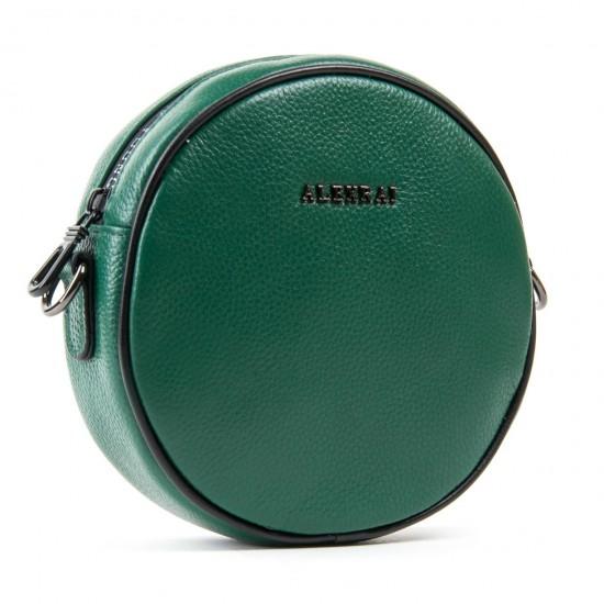 Женская сумочка-клатч из натуральной кожи ALEX RAI 39032 зеленый