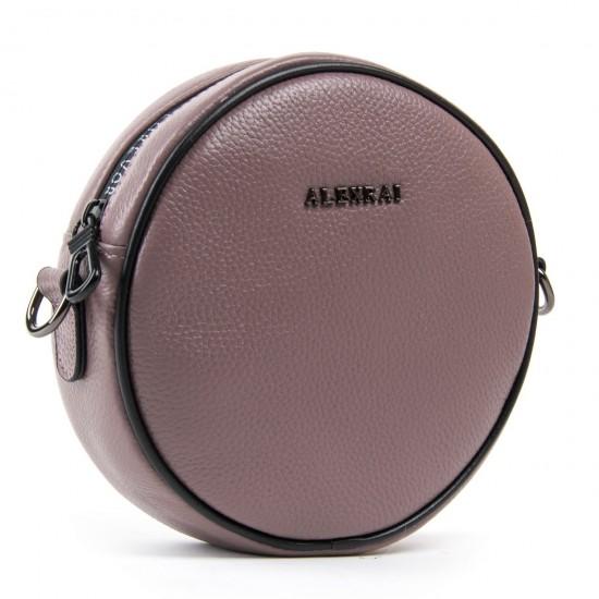 Женская сумочка-клатч из натуральной кожи ALEX RAI 39032 лиловый