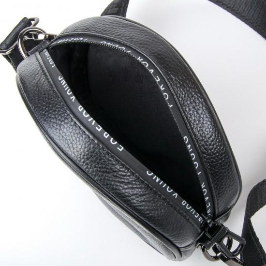Женская сумочка-клатч из натуральной кожи ALEX RAI 39032 черный