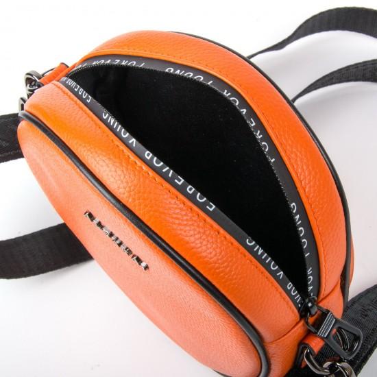 Женская сумочка-клатч из натуральной кожи ALEX RAI 39032 оранжевый