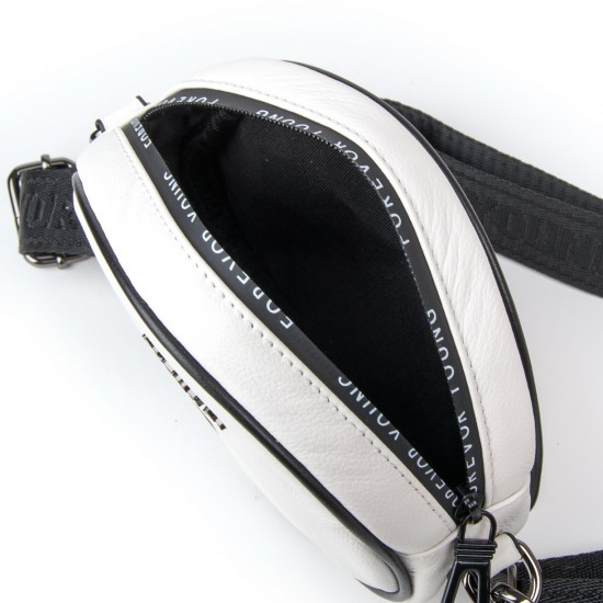 Жіноча сумочка-клатч з натуральної шкіри ALEX RAI 39032 білий