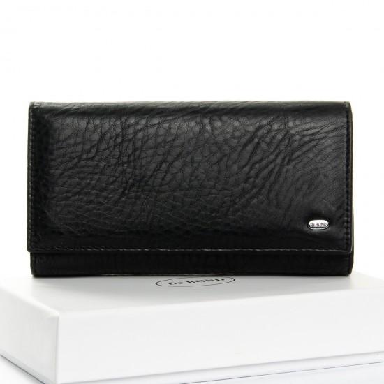 Жіночий шкіряний гаманець dr.Bond Classic W46 чорний