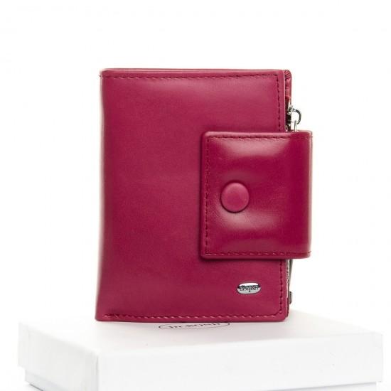 Женский кожаный кошелек dr.Bond Classic WS-5 розовый