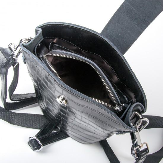 Женская сумочка из натуральной кожи ALEX RAI 2237 черный