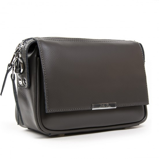 Женская сумочка из натуральной кожи ALEX RAI 2227 серый