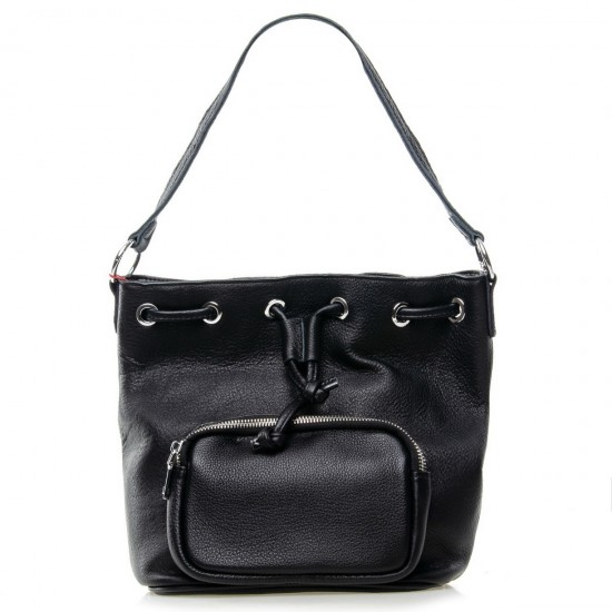 Женская сумка из натуральной кожи ALEX RAI 7110 черный