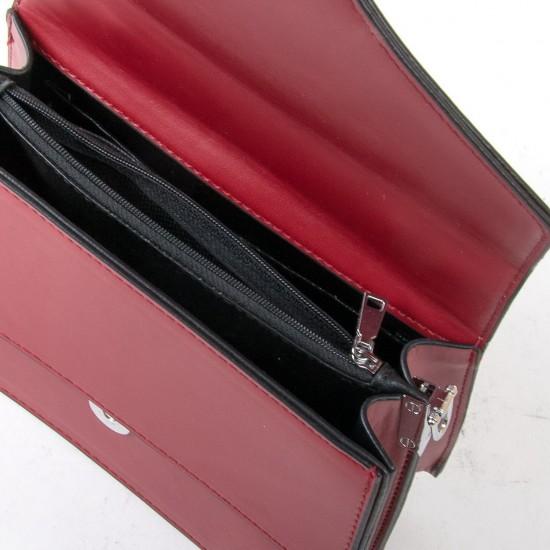 Женская сумочка-клатч FASHION 6156 бордовый