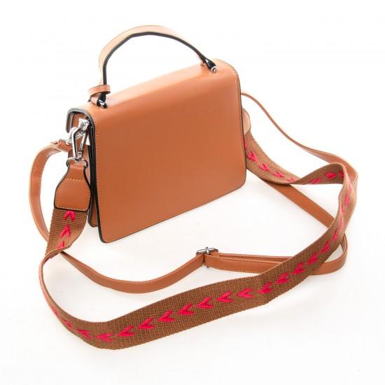 Жіноча сумочка-клатч FASHION 17022-1 рудий