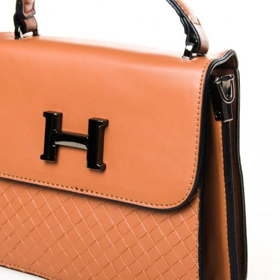 Жіноча сумочка-клатч FASHION 8984 рудий