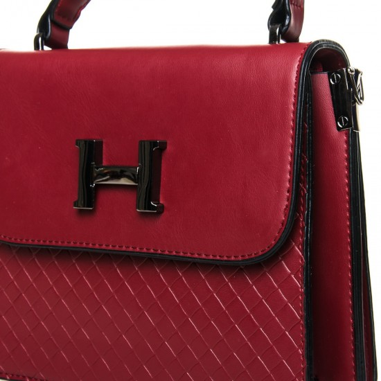 Женская сумочка-клатч FASHION 8984 бордовый