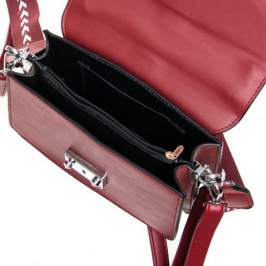 Женская сумочка-клатч FASHION 6133 бордовый