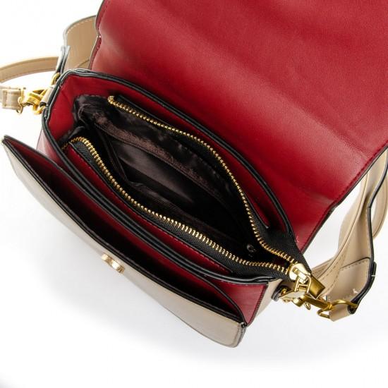 Женская сумочка-клатч FASHION 913 бежевый