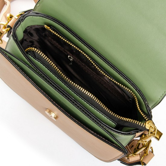 Женская сумочка-клатч FASHION 913 темно-бежевый