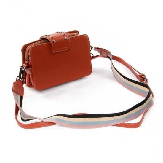 Женская сумочка-клатч FASHION 3800 рыжий