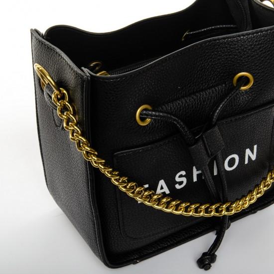 Женская сумочка-клатч FASHION 40554 черный