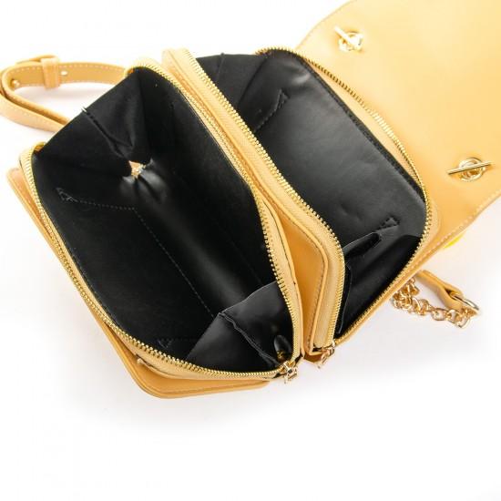 Жіноча сумочка-клатч FASHION 12081 жовтий