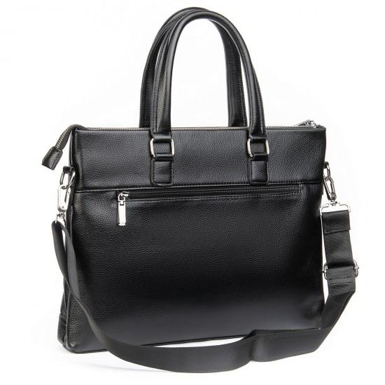 Деловая сумка-портфель для документов Dr.Bond 132-3 черный
