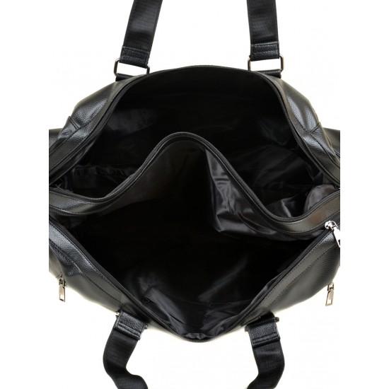 Дорожня сумка на два відділення dr.Bond 8714 чорний