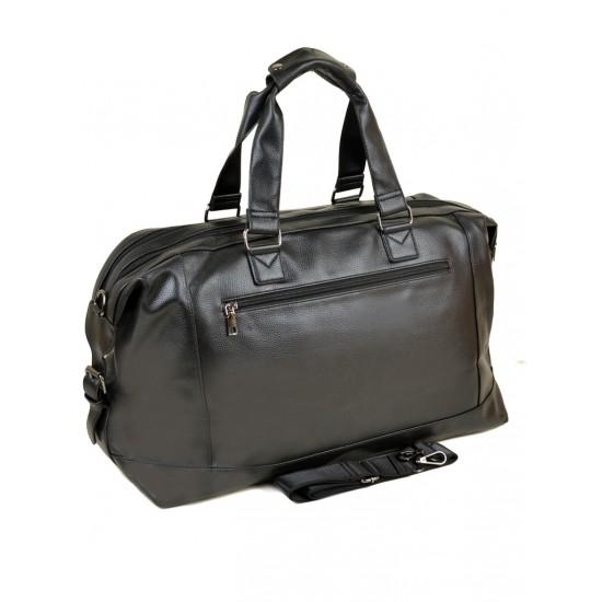 Дорожная сумка на два отделения dr.Bond 8710 черный