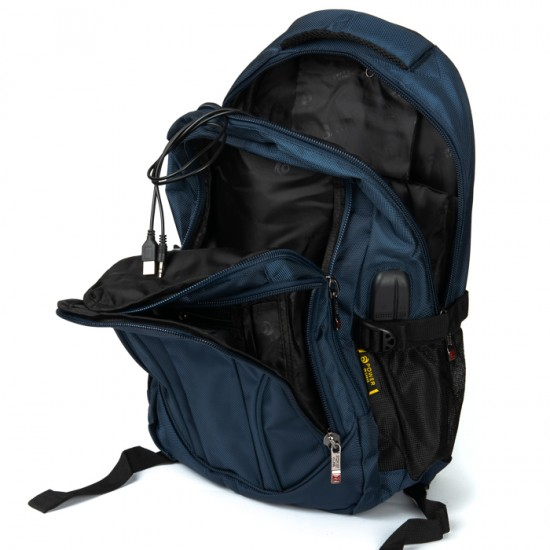 Городской рюкзак  Power In Eavas 924 синий