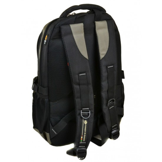 Городской рюкзак  Power In Eavas 920 черный + зеленый