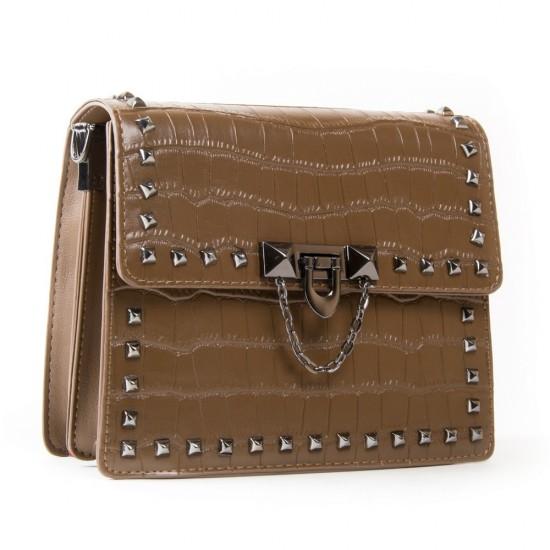 Женская сумочка-клатч FASHION 1939 коричневый