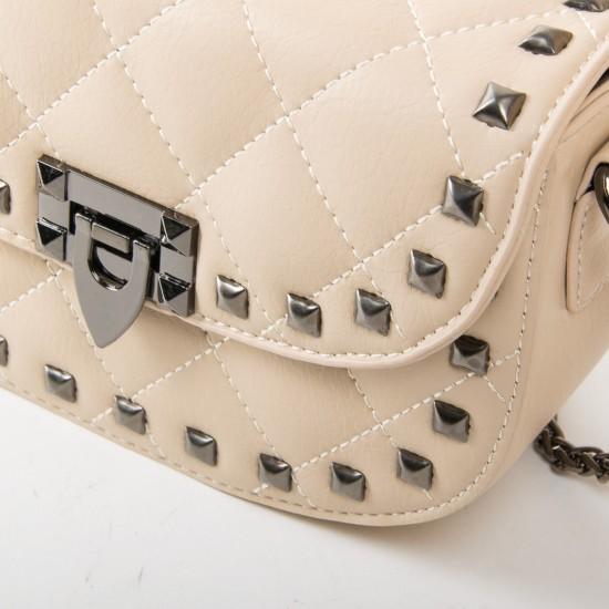 Жіноча сумочка-клатч FASHION F3157 бежевий