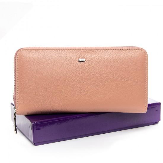 Женский кожаный кошелек визитница dr.Bond Classic WS-8 пудра