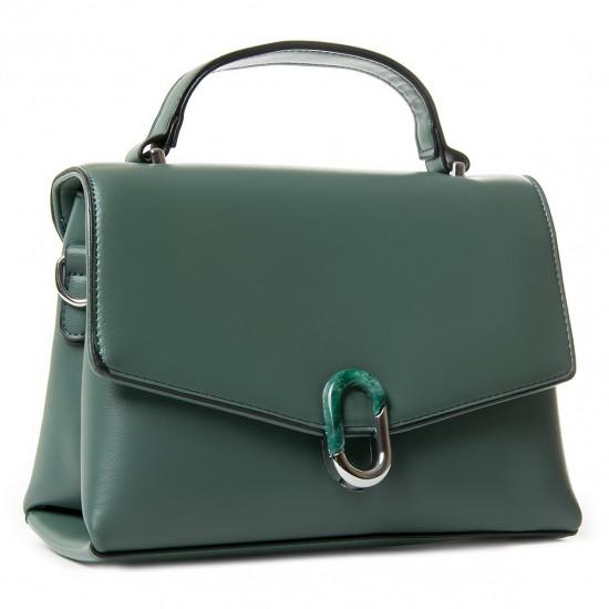 Женская сумочка на два отделения FASHION 701 зеленый