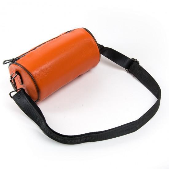 Жіноча сумочка-клатч з натуральної шкіри ALEX RAI 39030 помаранчевий