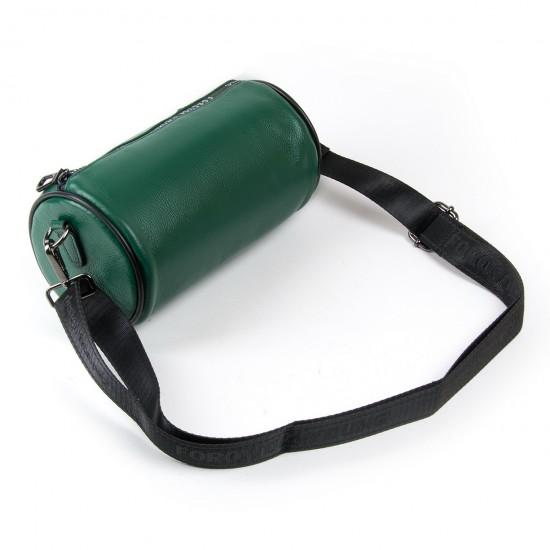 Женская сумочка-клатч из натуральной кожи ALEX RAI 39030 зеленый