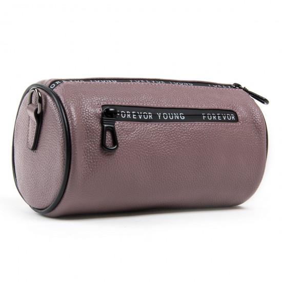 Жіноча сумочка-клатч з натуральної шкіри ALEX RAI 39030 ліловий