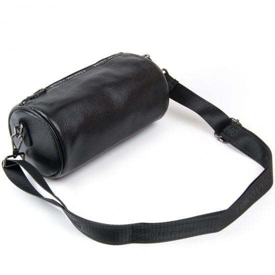 Женская сумочка-клатч из натуральной кожи ALEX RAI 39030 черный