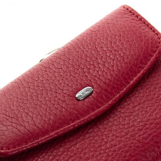 Женский кожаный кошелек dr.Bond Classic WS-11 фуксия
