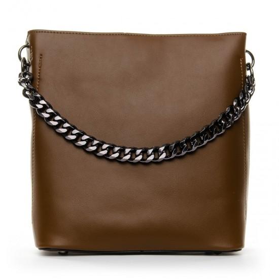 Жіноча сумочка через плече FASHION 920 коричневий