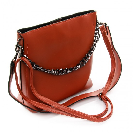 Жіноча сумочка через плече FASHION 920 рудий