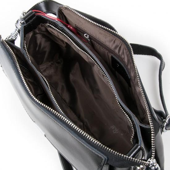 Женская сумка из натуральной кожи ALEX RAI 8721 черный