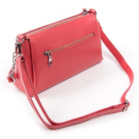 Женская сумка из натуральной кожи ALEX RAI 8721 фуксия