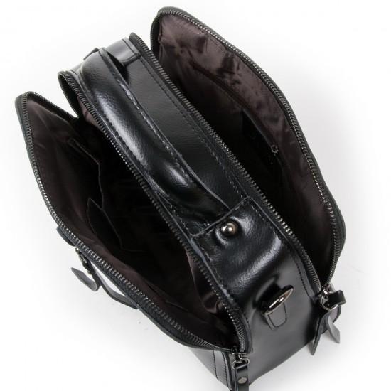 Женская сумка из натуральной кожи ALEX RAI 9119 черный