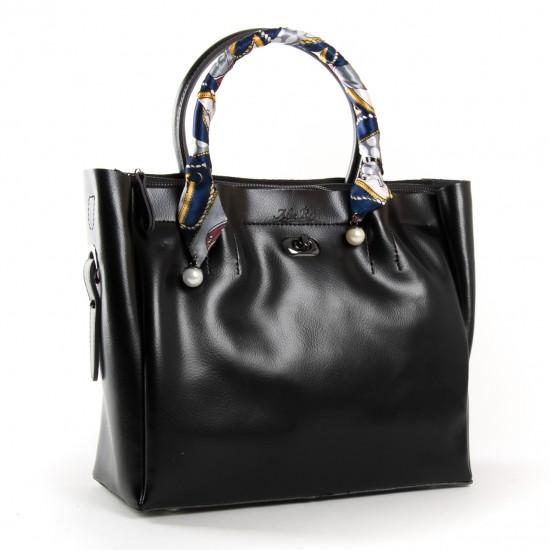 Женская сумка из натуральной кожи ALEX RAI PD 8696-3 черный